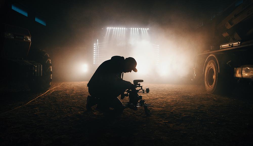 拍摄微电影